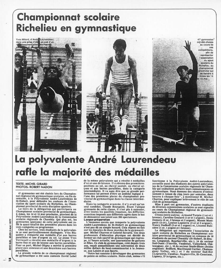 Gymnastique - 1997